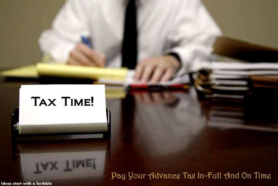 Payment of advance tax Liability