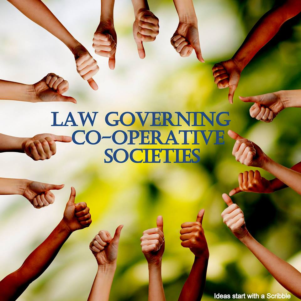 Legal and regulatory framework for co-operative societies